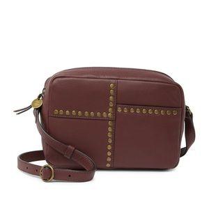 Lucky Brand Studded Leather Crossbody Bag